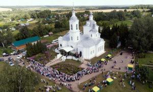 Храм в честь Успения Пресвятой Богородицы в селе Бортсурманы